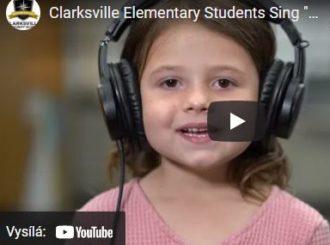 """Pěvecký sbor základní školy v Clarksville znovu objevil legendární píseň """"We Are the World"""" s Mojave Audio"""