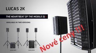 HK Audio - snížení cen aktivních systémů LUCAS 2K15 a 2K18